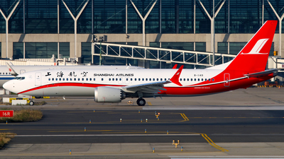 B-1149 - Boeing 737-8 MAX - Shanghai Airlines