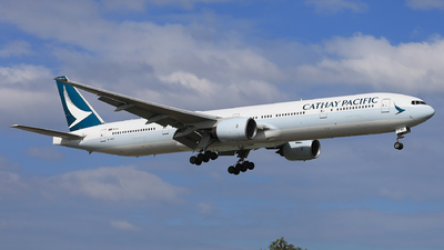 B-HNX - Boeing 777-31H - Cathay Pacific Airways