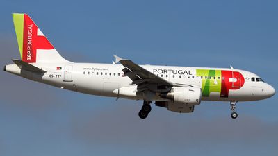CS-TTF - Airbus A319-111 - TAP Portugal