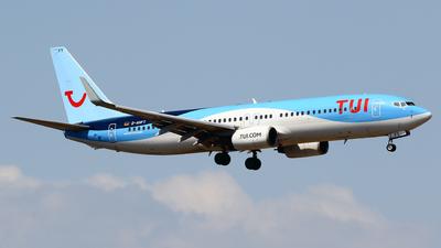 A picture of DAHFT - Boeing 7378K5 - TUI fly - © Javier Rodriguez - Amics de Son Sant Joan