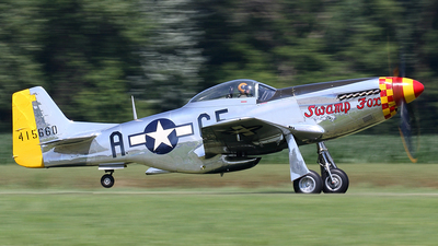N5420V - North American P-51D Mustang - Private