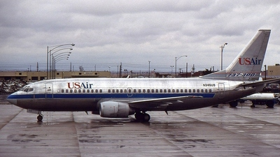 N345US - Boeing 737-301 - US Airways