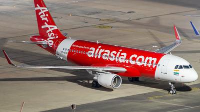 A picture of VTATB - Airbus A320216 - AirAsia - © Sandeep Pilania