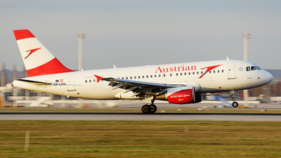 OE-LDG - Airbus A319-112 - Austrian Airlines