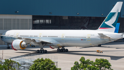 A picture of BKPK - Boeing 777367(ER) - Cathay Pacific - © CHenFeng_XMN