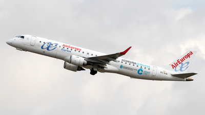 EC-KXD - Embraer 190-200LR - Air Europa Express