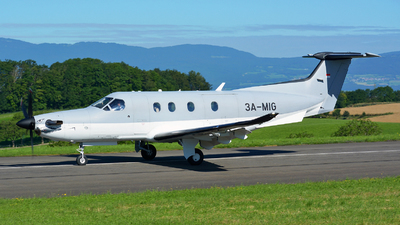 3A-MIG - Pilatus PC-12/47E - Fly 7 Executive Aviation