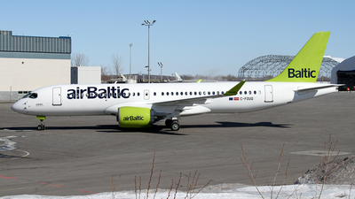 C-FOUQ - Airbus A220-300 - Air Baltic