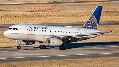 A picture of N833UA - Airbus A319131 - United Airlines - © HA-KLS