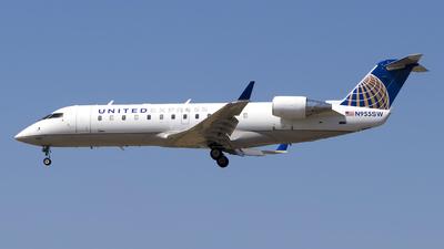 A picture of N955SW - Mitsubishi CRJ200LR - United Airlines - © Stefan Alexandru