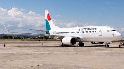 A picture of SXLWC - Boeing 7377K2 - Lumiwings - © Fryderyk Kastelnik/ Fred Aviation