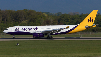 G-EOMA - Airbus A330-243 - Monarch Airlines