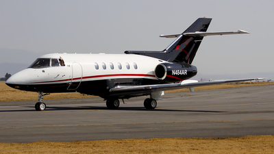 N484AR - Raytheon Hawker 800 - Private