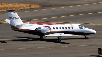 N976WT - Cessna 560 Citation V - Private