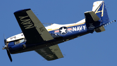 NX289RD - North American T-28C Trojan - Private