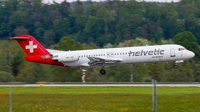 A picture of HBJVF - Fokker 100 - [11466] - © Luis Singer
