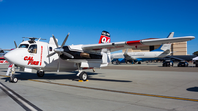 N442DF - Grumman S-2F3AT Turbo Tracker - United States - California Department of Forestry