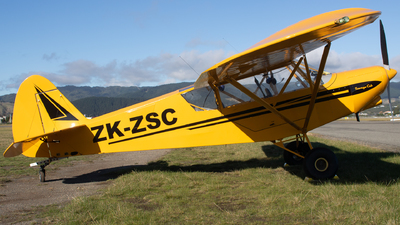 ZK-ZSC - Zlin Savage Cub - Private