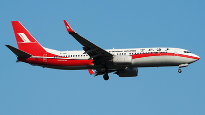 B-7397 - Boeing 737-89P - Shanghai Airlines
