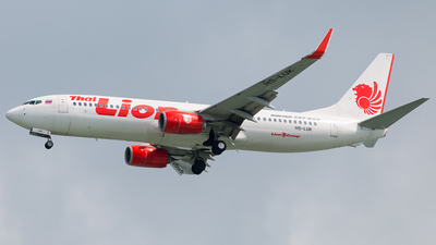 HS-LUK - Boeing 737-8GP - Thai Lion Air