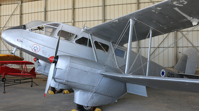 002 - De Havilland DH-89A Dragon Rapide - Israel - Air Force