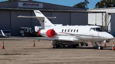A picture of VHSGY - Hawker 850XP - [258780] - © Matthew McDonald