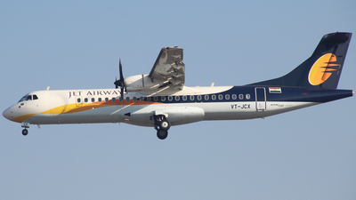 VT-JCX - ATR 72-212A(600) - Jet Airways