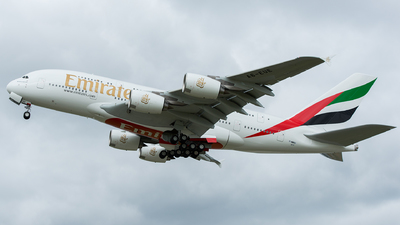F-WWAU - Airbus A380-861 - Emirates