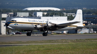 N6174C - Douglas DC-6A Liftmaster - Everts Air Cargo