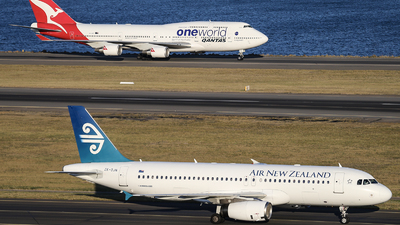 ZK-OJN - Airbus A320-232 - Air New Zealand
