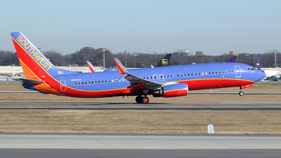 N8634A - Boeing 737-8H4 - Southwest Airlines