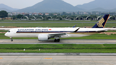 9V-SHA - Airbus A350-941 - Singapore Airlines