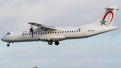 CN-COJ - ATR 72-212A(600) - Royal Air Maroc Express