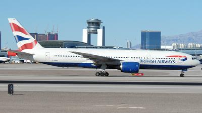 G-YMMB - Boeing 777-236(ER) - British Airways