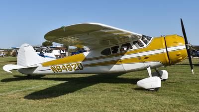 N6492D - Cessna 195 - Private