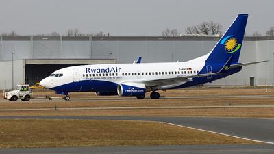 D-AHXB - Boeing 737-7K5 - RwandAir
