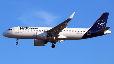 A picture of DAINP - Airbus A320271N - Lufthansa - © Daniel Klein