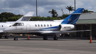 N830FL - Raytheon Hawker 800XP - Flight Options