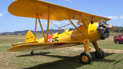 ZK-BWR - Boeing N2S-3 Stearman - Private