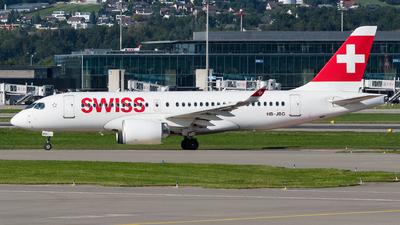 A picture of HBJBG - Airbus A220100 - Swiss - © Julian Mittnacht