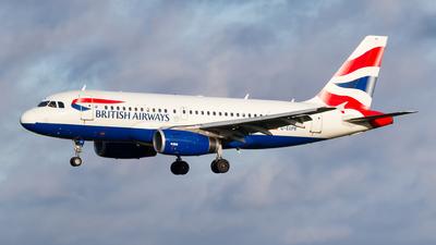 A picture of GEUPK - Airbus A319131 - British Airways - © Matteo Lamberts