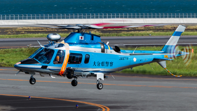 JA971V - Agusta A109E Power - Japan - Police