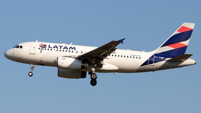 PT-TMC - Airbus A319-132 - LATAM Airlines