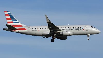 A picture of N260NN - Embraer E175LR - American Airlines - © DJ Reed - OPShots Photo Team