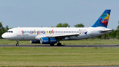 SP-HAC - Airbus A320-233 - Small Planet Airlines Polska