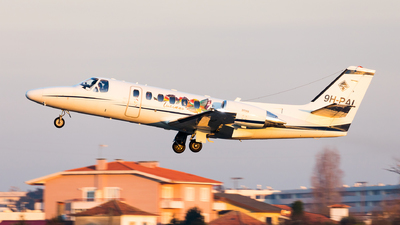 9H-PAL - Cessna 550B Citation Bravo - Maleth Aero