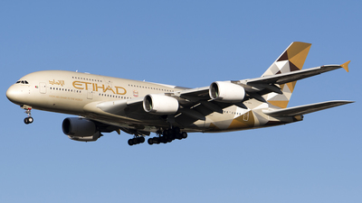 A picture of A6APH - Airbus A380861 - Etihad Airways - © Stefan Alexandru