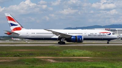 A picture of GZBKA - Boeing 7879 Dreamliner - British Airways - © Vicknesh PS