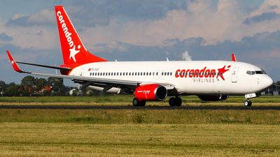 A picture of TCTJT - Boeing 7378HC - Corendon Airlines - © C. v. Grinsven