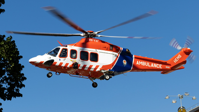 A picture of VHYXF - AgustaWestland AW139 - Babcock MCS Onshore - © Lachlan Boyd